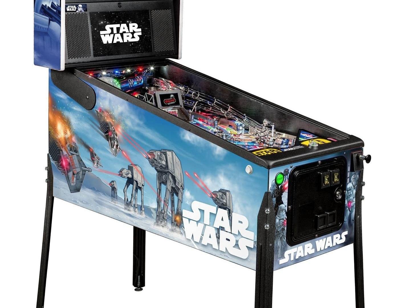 Star Wars Pinball Machine >> Star Wars Pinball Machine Premium Edition