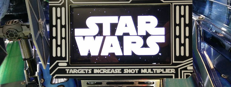 Star Wars Playfield LCD Screen Frame | Laseriffic