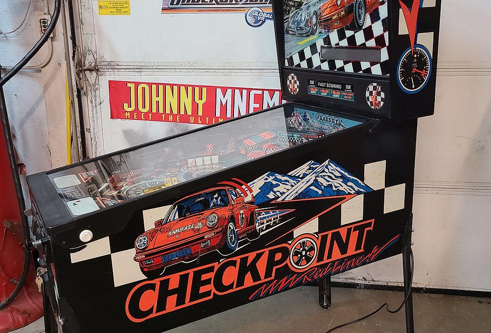 Checkpoint Pinball Machine
