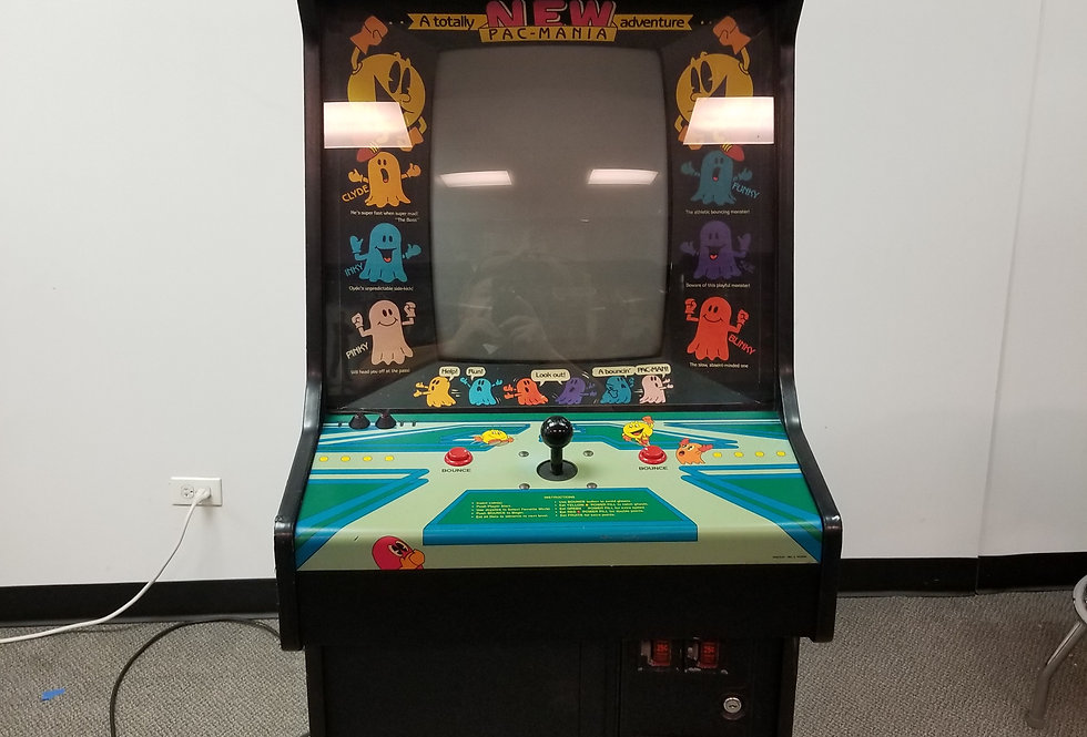 Pac Mania Arcade Game