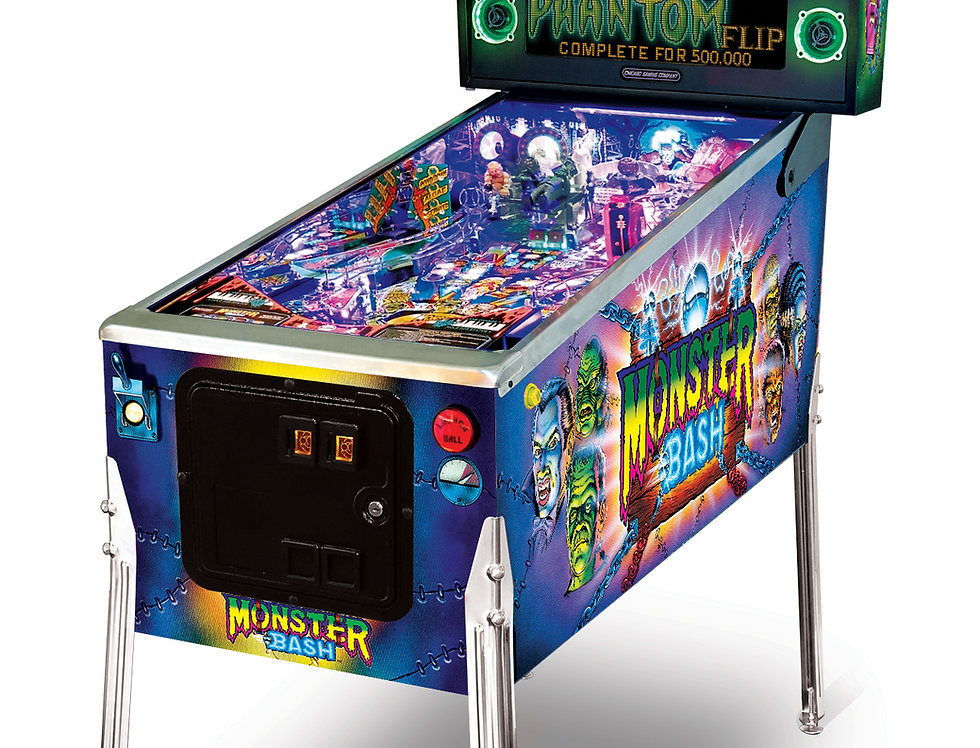 Monster Bash Pinball Machine Special Edition