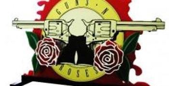 Guns N Roses Custom Pinball Topper | Laseriffic