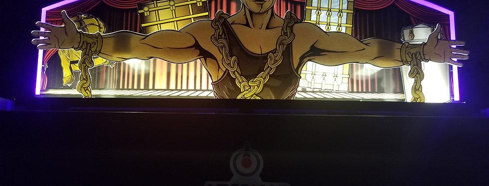Houdini Custom Pinball Topper   Laseriffic