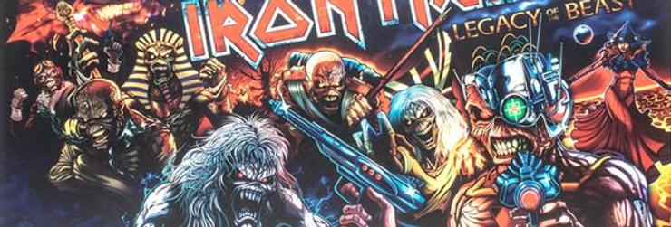 Iron Maiden Translite
