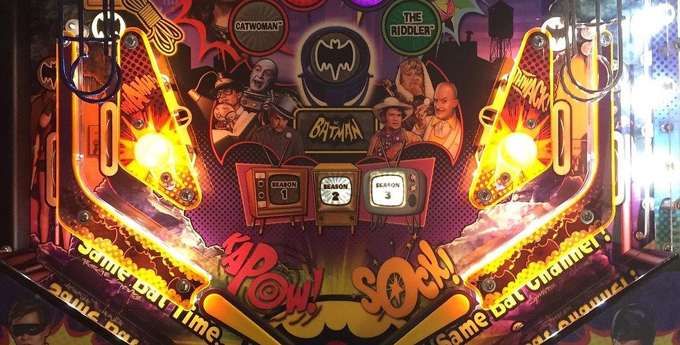Batman 66 Plastic Protectors 5 Piece set   Laseriffic