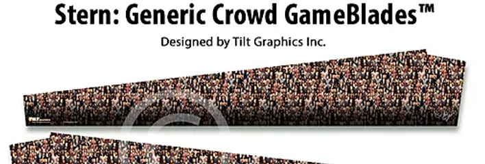 Stern Generic Crowd Game Blades