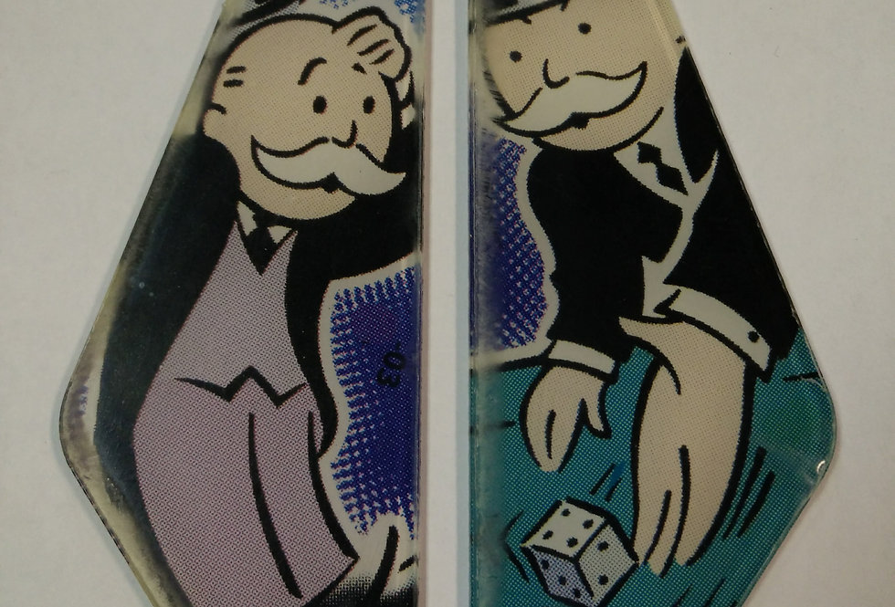 Monopoly Slingshot Plastic Set