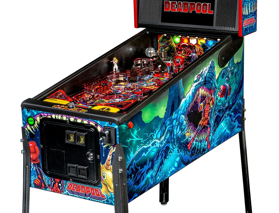 Deadpool pinball machine (Premium) | Stern