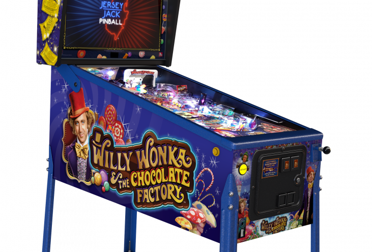 Willy Wonka Pinball Machine | Limited Edition