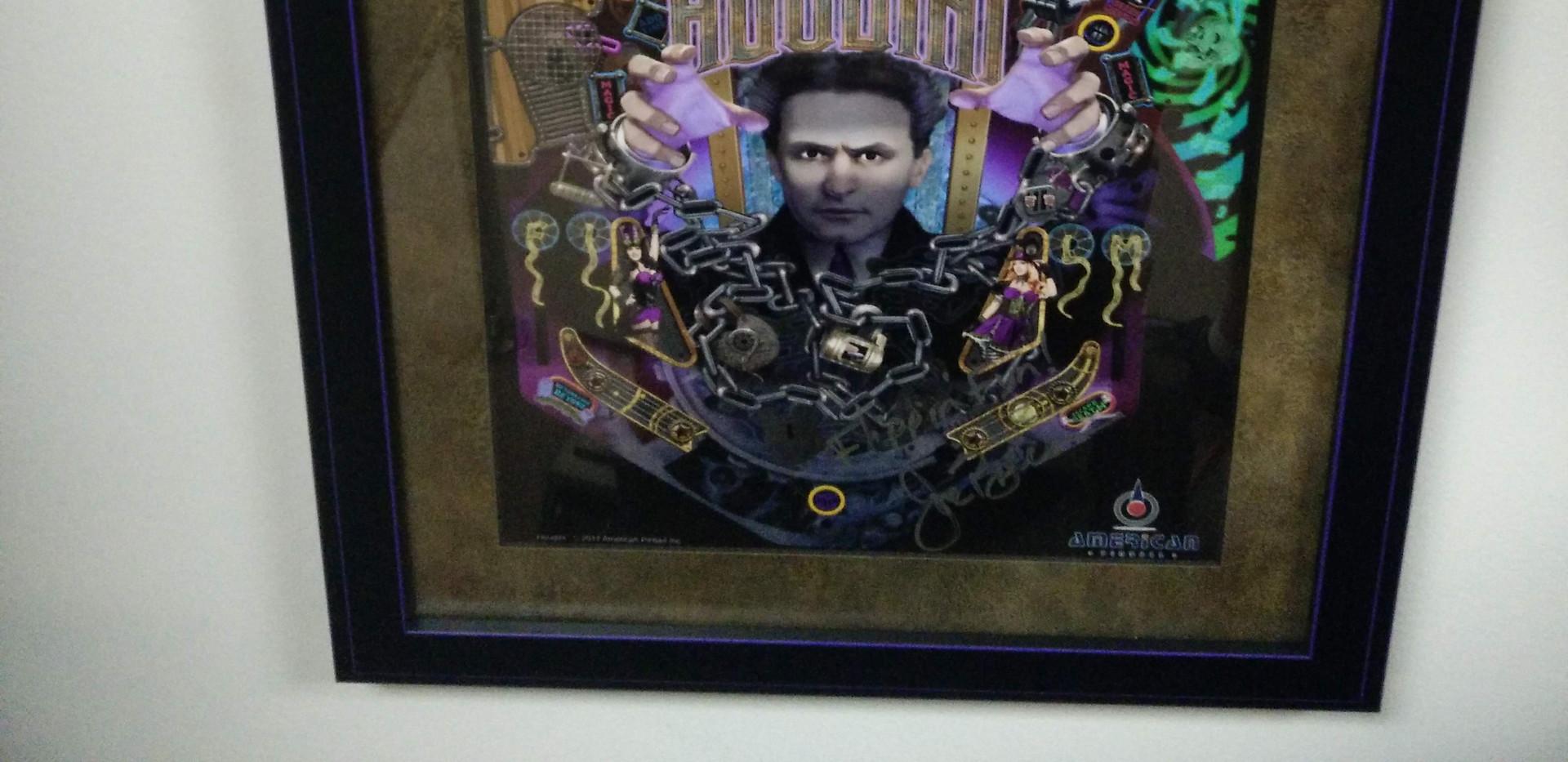 Houdini Pinball Art