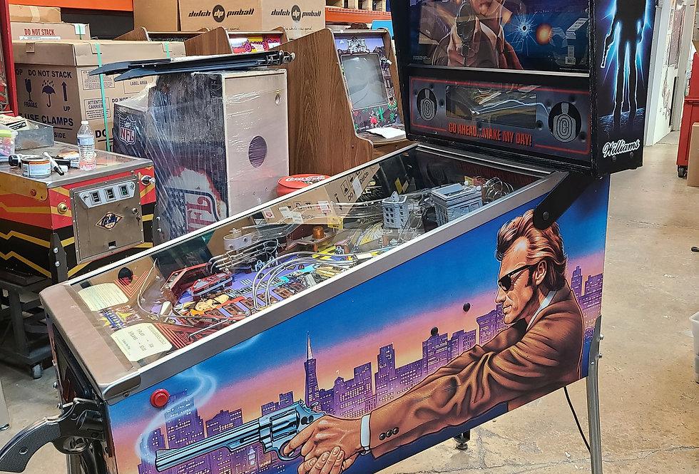 Dirty Harry pinball machine