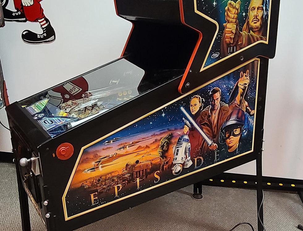 Star Wars Episode One pinball machine