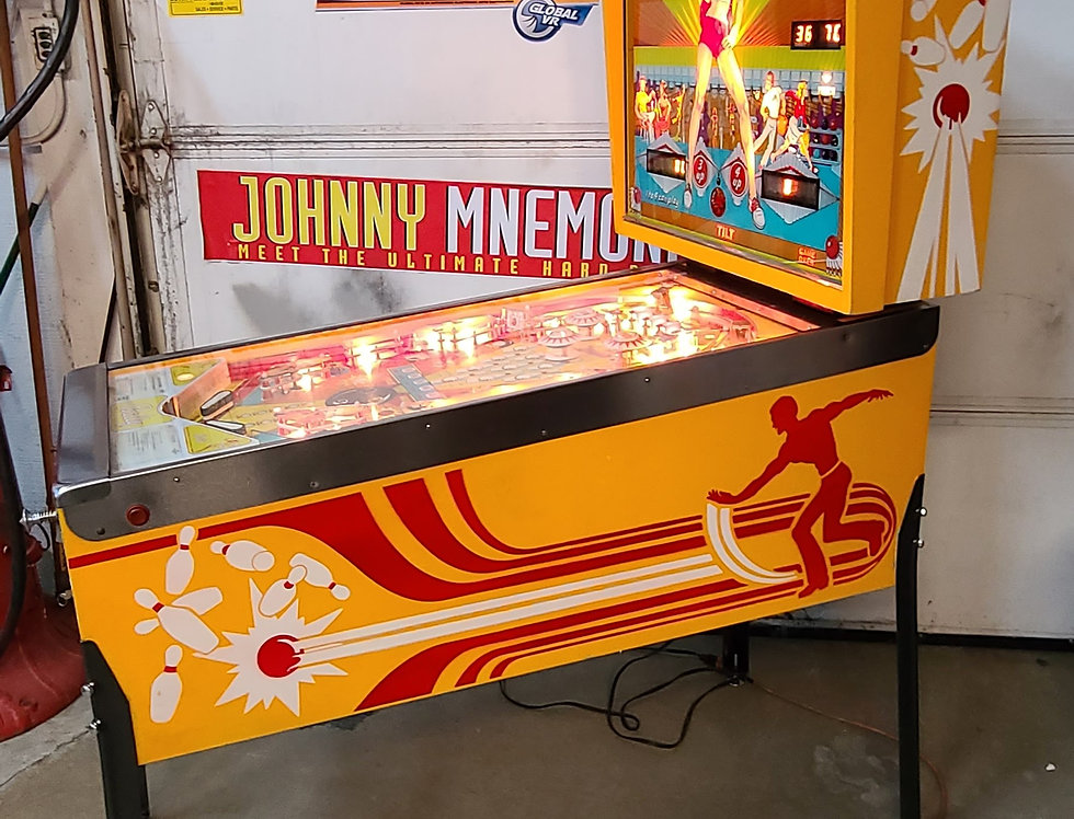 Strikes and Spares pinball machine by Bally
