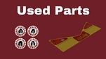 used pinball parts