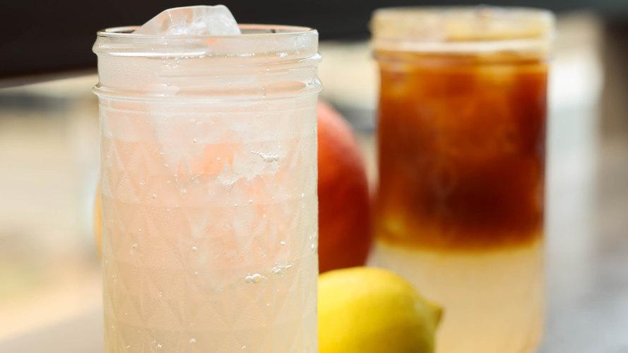 Grapefruit-Lemon Spritzer & Espresso Ton