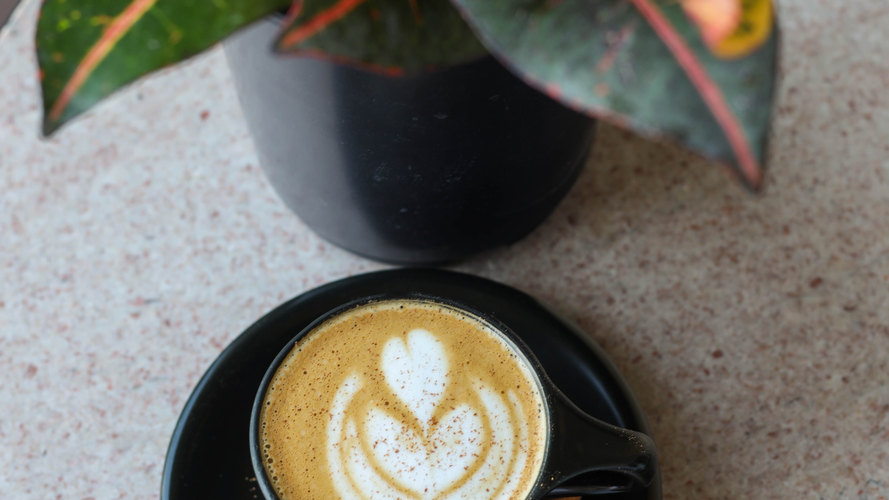 Spiced Gourd Cappuccino