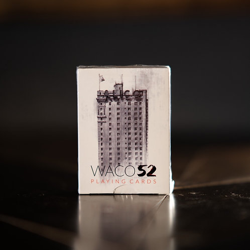 Waco 52 Playing Cards