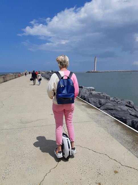 Visiting Oostende