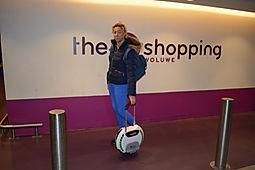 monowiel shopping