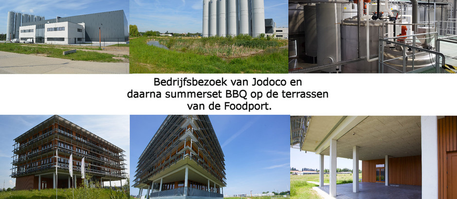 12 Juni : Bedrijfsbezoek van JODOCO gevolgd door Summer evening BBQ