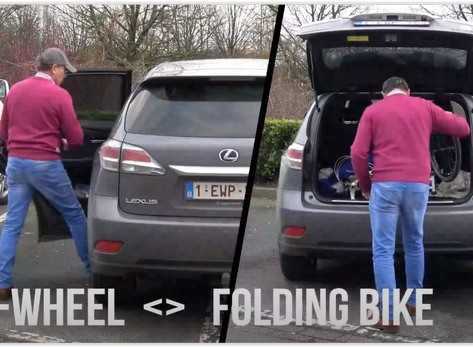 e-Wheel vs folding Bike