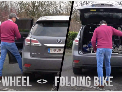 e-Wheel vs folding Bike