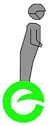 e-wheel ensigne als uitmuntend vervoersmiddel voor kleine afstanden