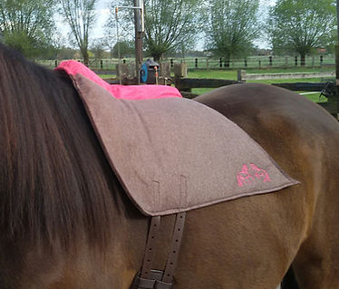 Vegan Felt Saddle from Violan