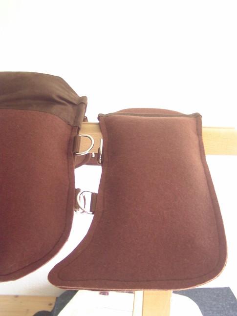 Detail: Unterlage für Packtasche