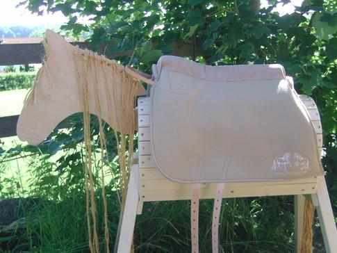 Saffa Barock Comfort Camel Comforpolster: Sand Logo: Sand mit Halteriemen, Leder, natur