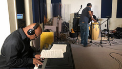 Overdubs and percussion recording session 10.21.2018
