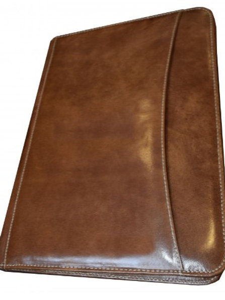 Premium Baby Goat Leather D Ring 8.5x11 A4 Paper