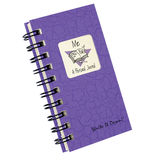 Mini Personal Journal-Purple