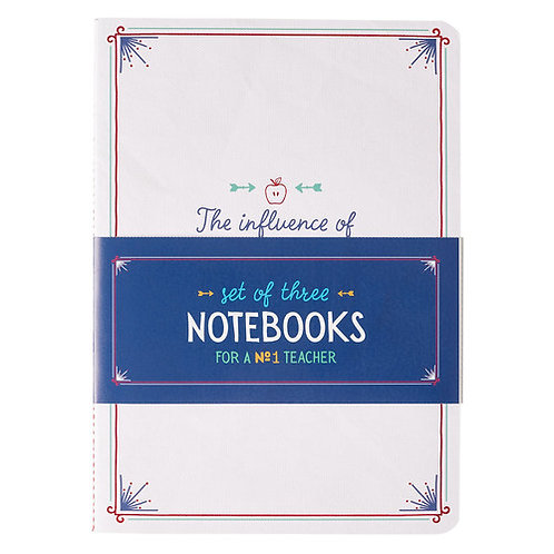 Number One Teacher Notebook Set