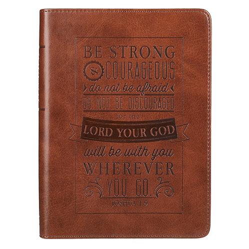 Be Strong Journal - Joshua 1:9