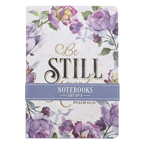 Be Still and Know Notebook Set