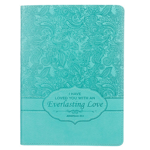 Everlasting Love Faux Leather Journal