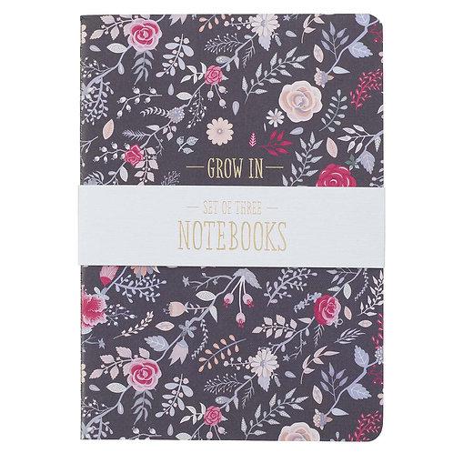 Grace, Love, Faith Notebooks