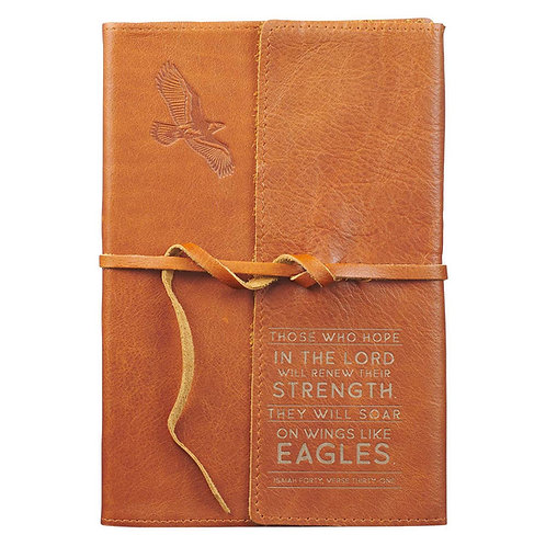 Eagles Wings Leather Journal