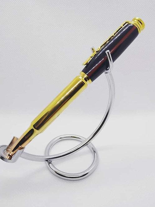 Cartridge Pen with Navy Blue Barrel