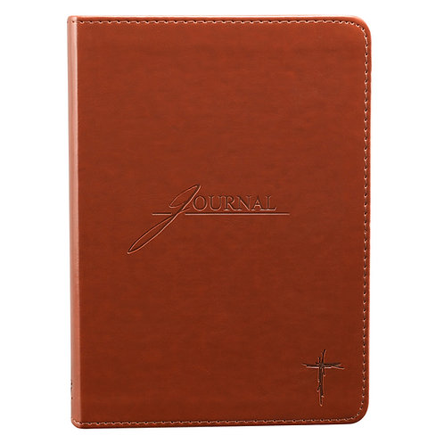 Saddle Tan Cross Journal