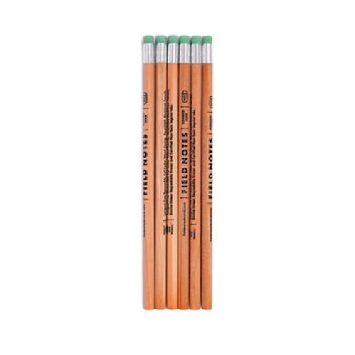 NO. 2 WOODGRAIN PENCIL 6-PACK