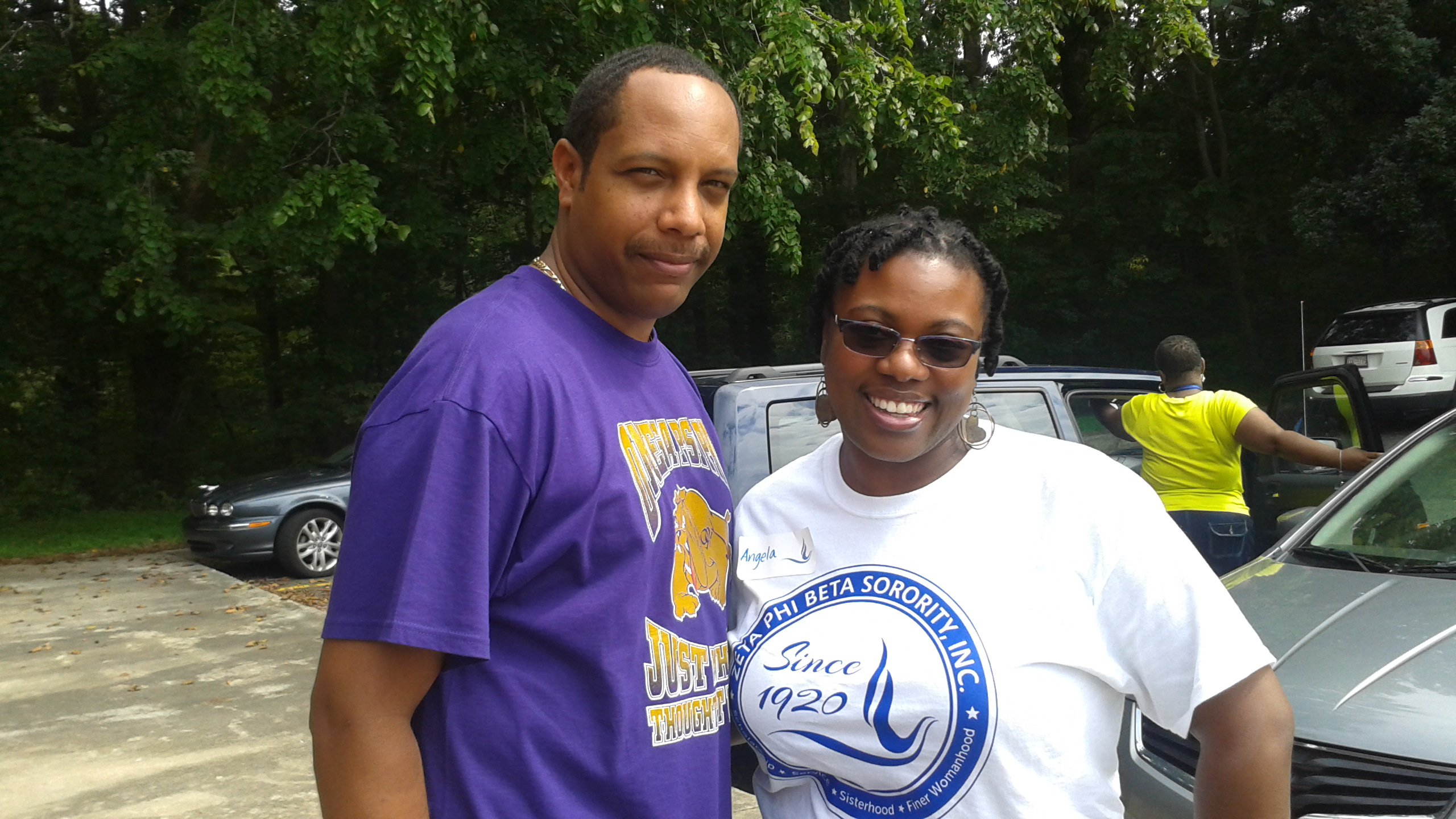 Central Elementay School Principal Myron Wilson and Angela Breaker ZPackItUP.jpg