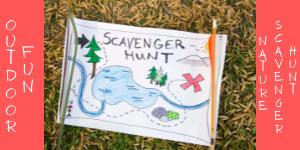 Outdoor Fun Nature Scavenger Hunt websit
