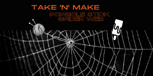 Take 'N' Make spider web website.png