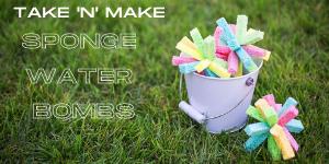 Take 'N' Make Sponge Water Bombs Website