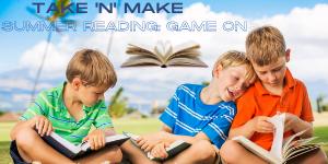 Take 'N' Make Summer reading game on Web