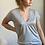 Thumbnail: Tee-shirt CASSIE gris chiné