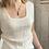Thumbnail: Top Jeanne blanc