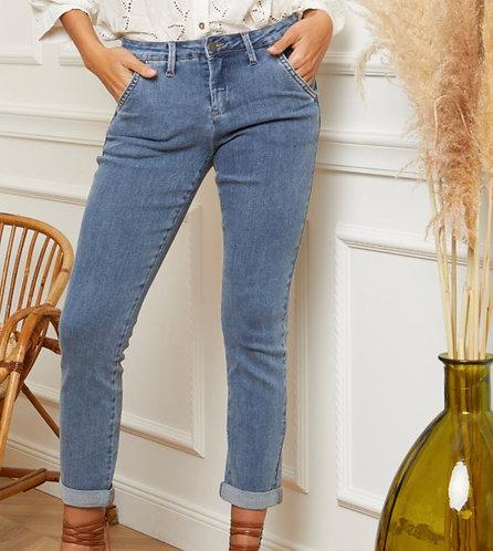 Pantalon chino version jean